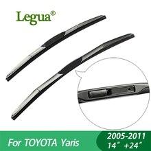 цены на 1 set Wiper blades For TOYOTA Yaris (2005-2011), 14