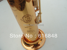 Wholesale sales B the straight soprano saxophone 80th Anniversary gold plated Henry Reference 54