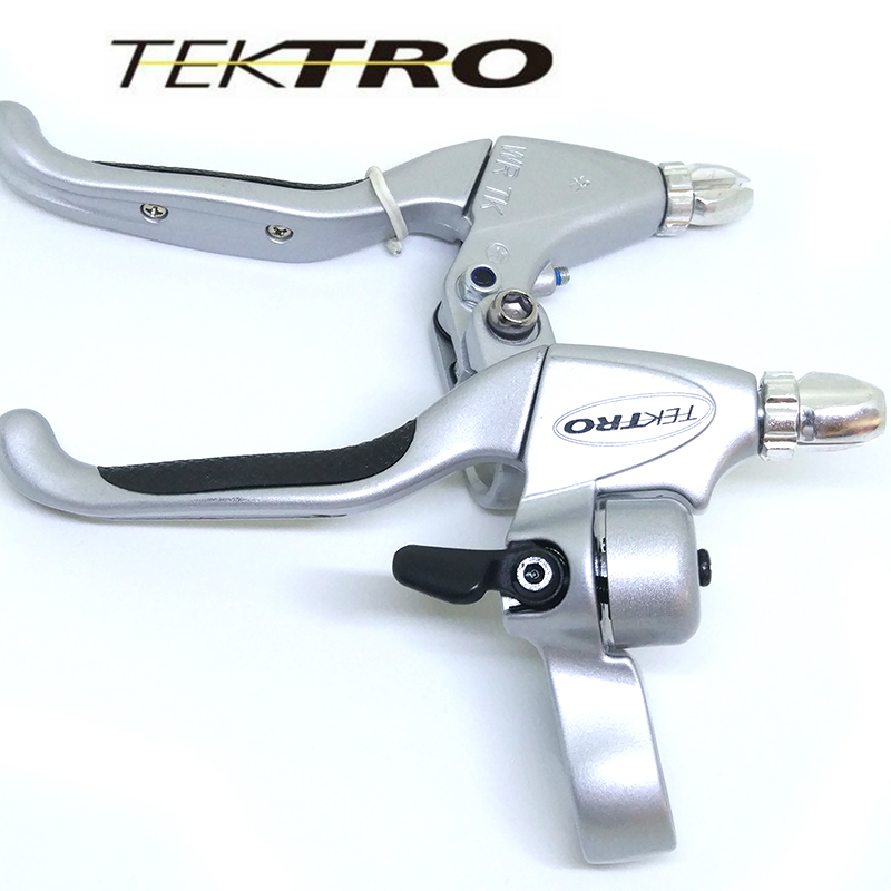 TEKTRO CL530 4 Lever Finger 206g / Pair Road Bike Cruiser Crucer Recreation Lever alumini Me Kraton Gratik Gip Versioni AC Për Roller