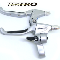 TEKTRO CL530 4 Finger Lever 206g/Pair Road Bike Cruiser Recreation Aluminum Lever With Kraton Rubber Grip AC Version For Roller