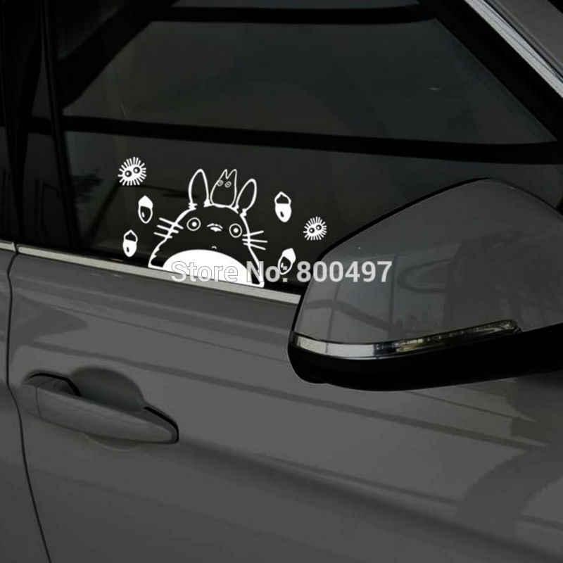 Nouvelle voiture-style drôle dessin animé belle chat Totoro voiture autocollants voiture autocollants pour Toyota Ford Focus 2 Chevrolet VW Opel Tesla Lada