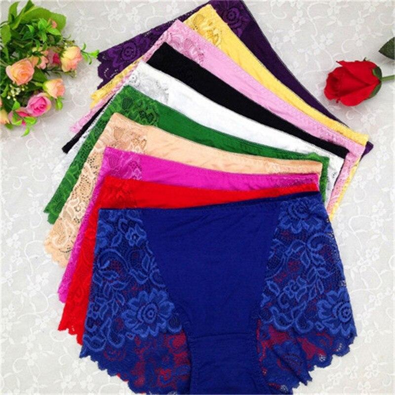 Hot Sexy moda mujeres bragas Sexy Lace ropa interior de la cintura alta  mujeres inconsútiles Panty 3250 6b087498ca84