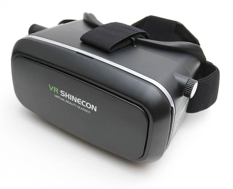 18 Original Shinecon VR Pro Virtual Reality 3D Glasses Headset VRBOX Head Mount Google Cardboard Helmet For Smartphone 4-6inch 23