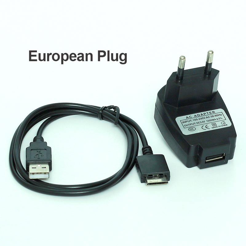 USB Travel Charger Adapter For Sony Walkman Digital Media Player NWZ /& NW Series