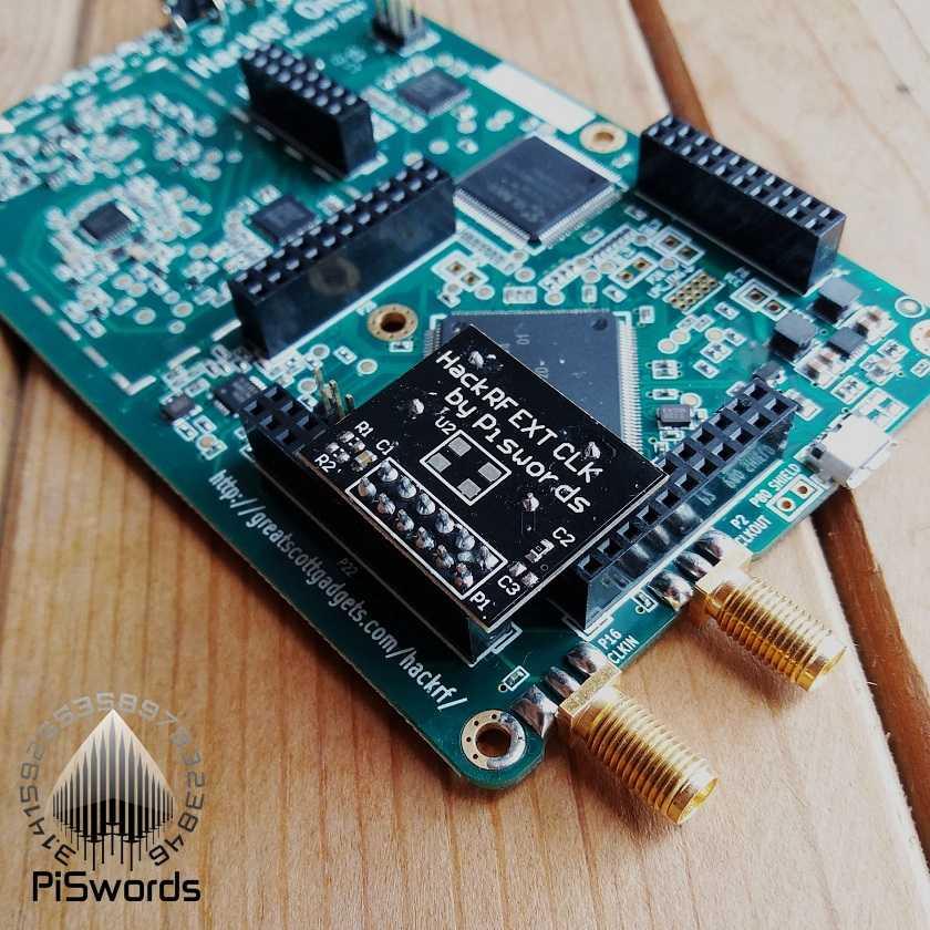 External High precision PPM 0 1 TCXO Clock oscillator module of HackRF one  for GPS Applications GSM/WCDMA/LTE