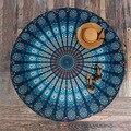 Индийский Мандала Круглый Roundie Пляжа Бросить Гобелен Хиппи Boho Цыганский Скатерть Полиэстер Пляжное Полотенце