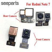Ban Đầu Dành Cho Xiaomi Redmi Note 7 Camera Trước Cáp Mềm Cho Redmi Note 7 Pro Camera Phía Sau Các Bộ Phận Thay Thế Lưu Ý 7 Camera Sau
