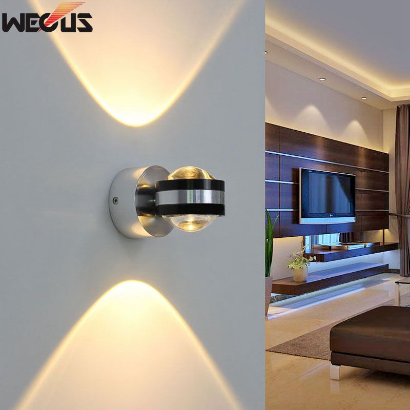 6w Led Sconce Bedside Light Surface Mount Wall Lamp