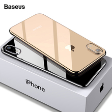 Baseus Phone Case For iPhone Xs Max Xr X S R Xsmax Coque Ultra Thin Slim Soft TPU Silicone Back Cover iPhonexs Fundas