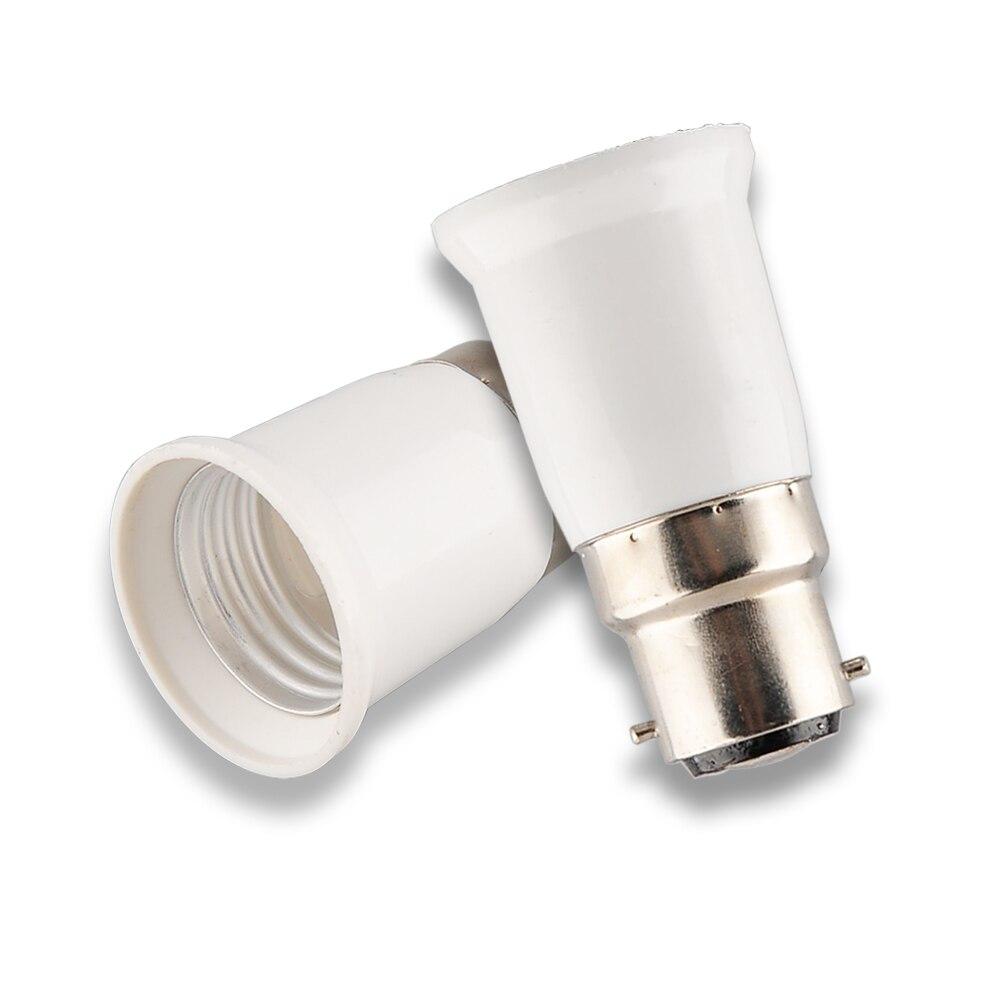 B22 TO E14 FEMALE LAMP CONVERTER SOCKET BAYONET BULB ADAPTER LIGHT HOLDER BASE