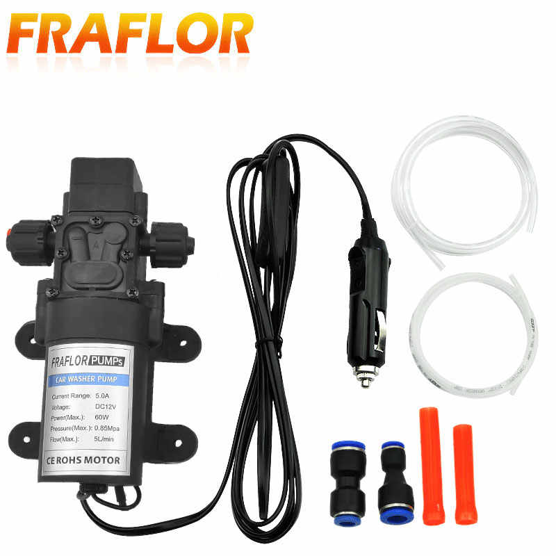 12V Automobile Engine Self priming Electric Oil Pump High
