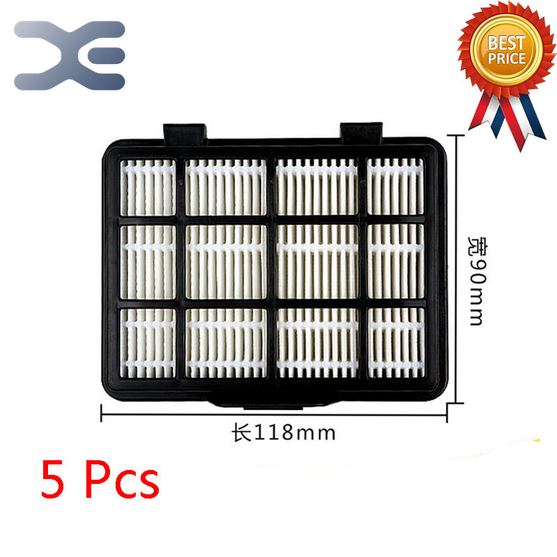 5Pcs Lot High Quality Compatible With For Midea C3-L148B Vacuum Cleaner Accessories Filter Exhaust HEPA Filter 5pcs lot high quality compatible with for midea vacuum cleaner accessories filter hepa vc34j 09c vc12c1 vv