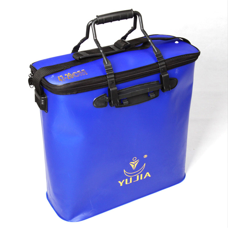2018 New fishing Bags 47 20 45cm EVA Fishing bucket Pesca Acesorios Bolsa De Pesca Large