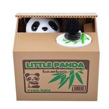 Автоматический палантин монета банк панда 11,5x9,5x9 см размер деньги спасательный ящик Копилка автоматизированные подарки для детей