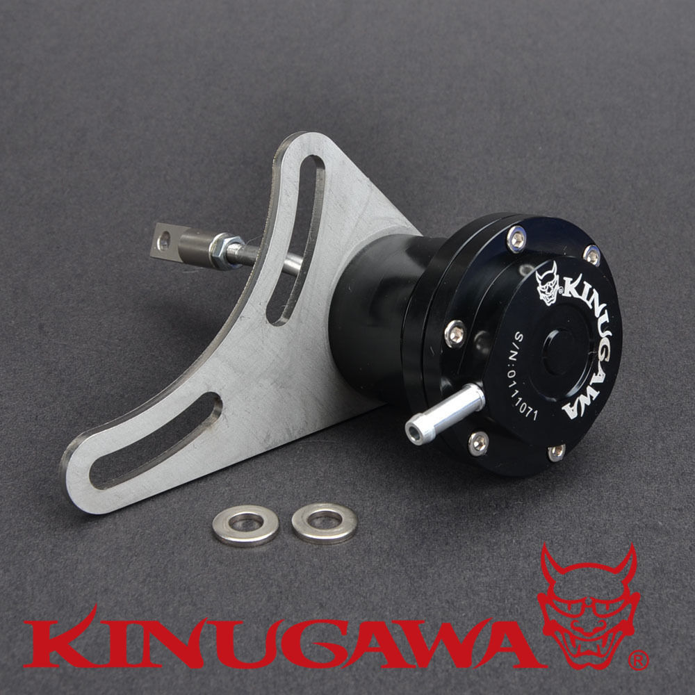 Kinugawa Adjustable Turbo Wastegate Actuator for Hitachi HT12 for Nissan Navara ZD30 Diesel 1.0 bar / 14.7 Psi