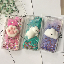 3D Squishy Cat Case For iPhone 5S SE
