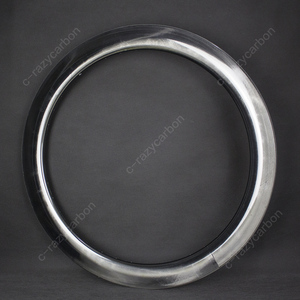 Image 1 - 2019 OEM Brilliant Paintless UD Glossy Mirror Surface Carbon T700C Road Rims Tubular/Clincher Road Disc Brake
