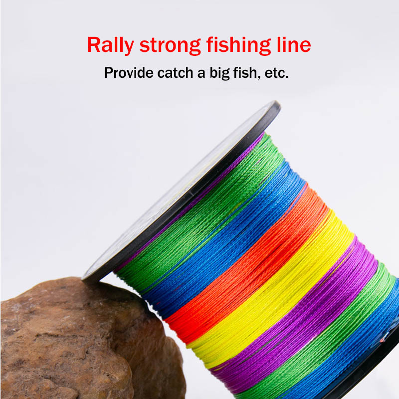 1000m PE Fishing Line 8 Strands Braided Fishing Line Ultra high Strength Multifilament Fishing Line Smooth JC-in Fishing Lines from Sports & Entertainment