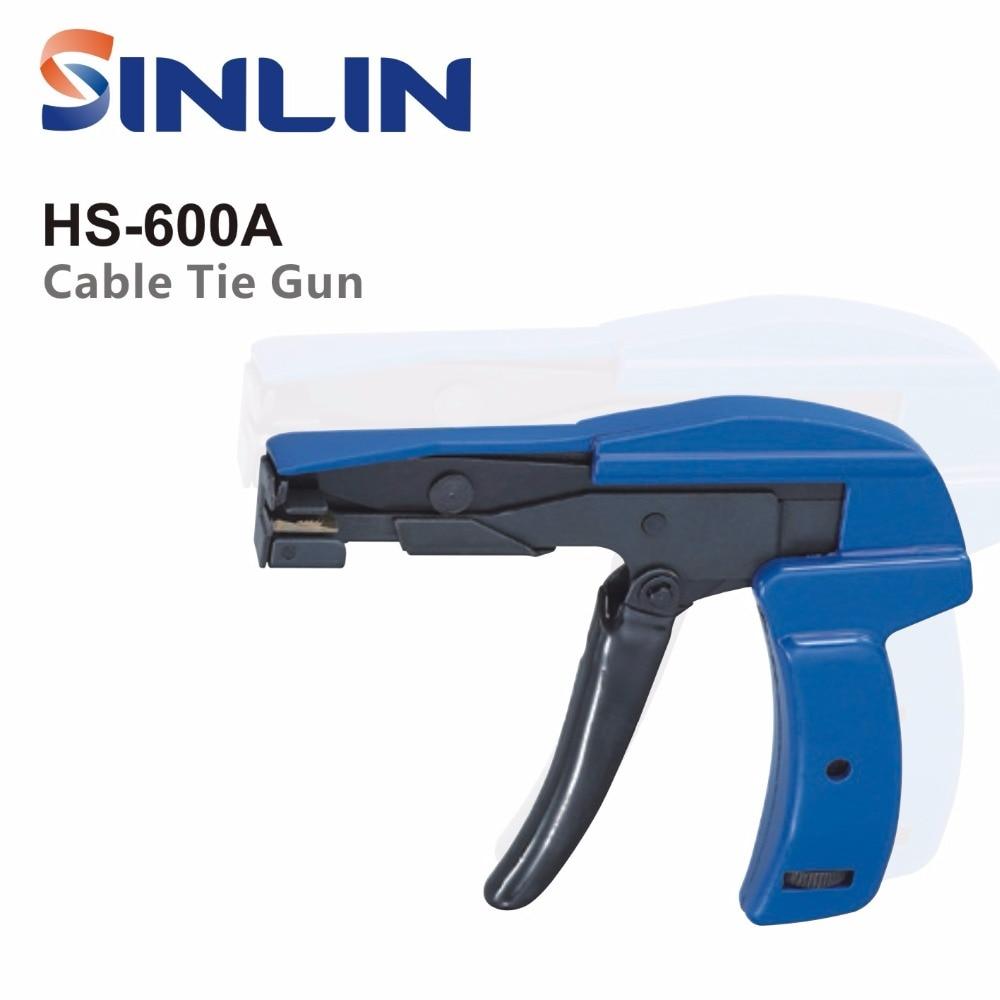 Zangen Werkzeuge Logisch Kabelbinder Run Hs-600a Kabelbinder Befestigungs Werkzeug Kabelbinder Schäkel Werkzeuge 2,4-4,8mm