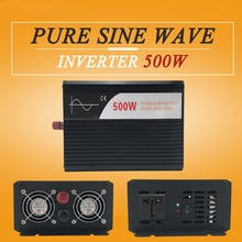 500 W onda senoidal pura energia solar inversor de Fase Única