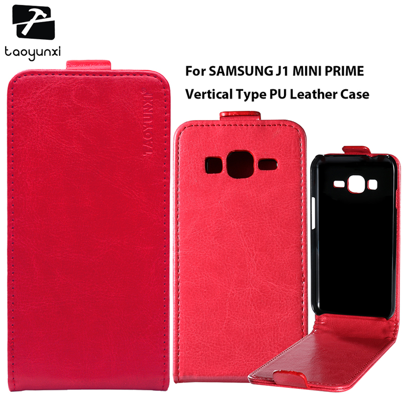 TAOYUNXI PU Leather Phone Case For Samsung Galaxy J1 Mini Prime J106F/DS J106B/DS J106H/DS Samsung Galaxy V2 SM-J106 Bag Cover