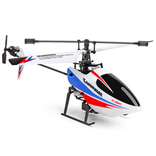 4CH RC Helicopter 2.4GHz Copter  Distant Management Drone Mannequin Tremendous Gyro Shock Proof Helicopter Toys White Plane
