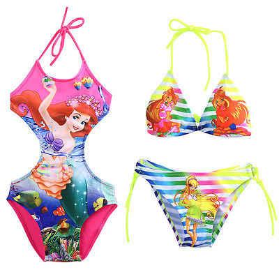 96a5279c061a1 New Cartoon Cute Infant Baby Girls Swimwear Summer Kids Backless Swimsuit  Costume Tankini Bathing Suit