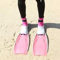 New Snorkel Swim Fins Neoprene Swimming Flipper Anti slip Diving Fins For Adults Neoprene Flippers For Snorkeling Surfing