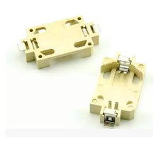 Free Shipping!! 2pcs SMD / CR2032 battery holder / coin cell holders /Electronic Component