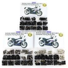Apto Para Suzuki GSXR 750 GSX-R600 GSXR600 GSX-R750 2011-2016 Acessórios Da Motocicleta Carenagem Parafusos Arruela Prendedor Kits OEM Estilo