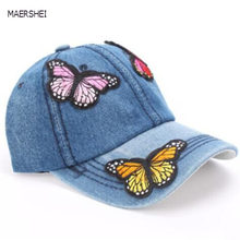 Maershei gorra de béisbol del SnapBack mariposa sombrero de vaquero sombrero  de verano hip-hop 4e850acf2bc