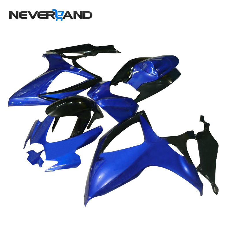 NEVERLAND Motorcycle Injection <font><b>Fairing</b></font> Frame Molding <font><b>Kit</b></font> For Suzuki GSXR600 GSXR750 <font><b>GSXR</b></font> <font><b>600</b></font> 750 K6 2006 <font><b>2007</b></font> D25 image