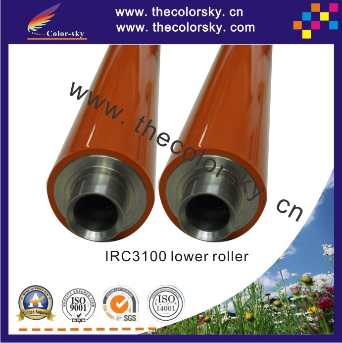 (RD-LR3200L) compatible lower pressure roller for Canon IRC3220 IRC3200 IRC3100 IRC2600 IRC2570 IRC3180 FB6-3653-000 high quality new upper fuser roller for canon irc3200 3100 2570 5185 4580 heating roller