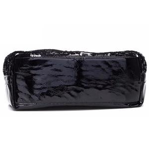 Image 4 - bags for women 2020 Fashion women bag Leather Sequins Women Handbags Shiny Ladies Handbag Chain Shoulder Bags Brand Designer