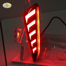Led Rear bumper driving lights for Toyota C-HR CHR running light Braking two functions