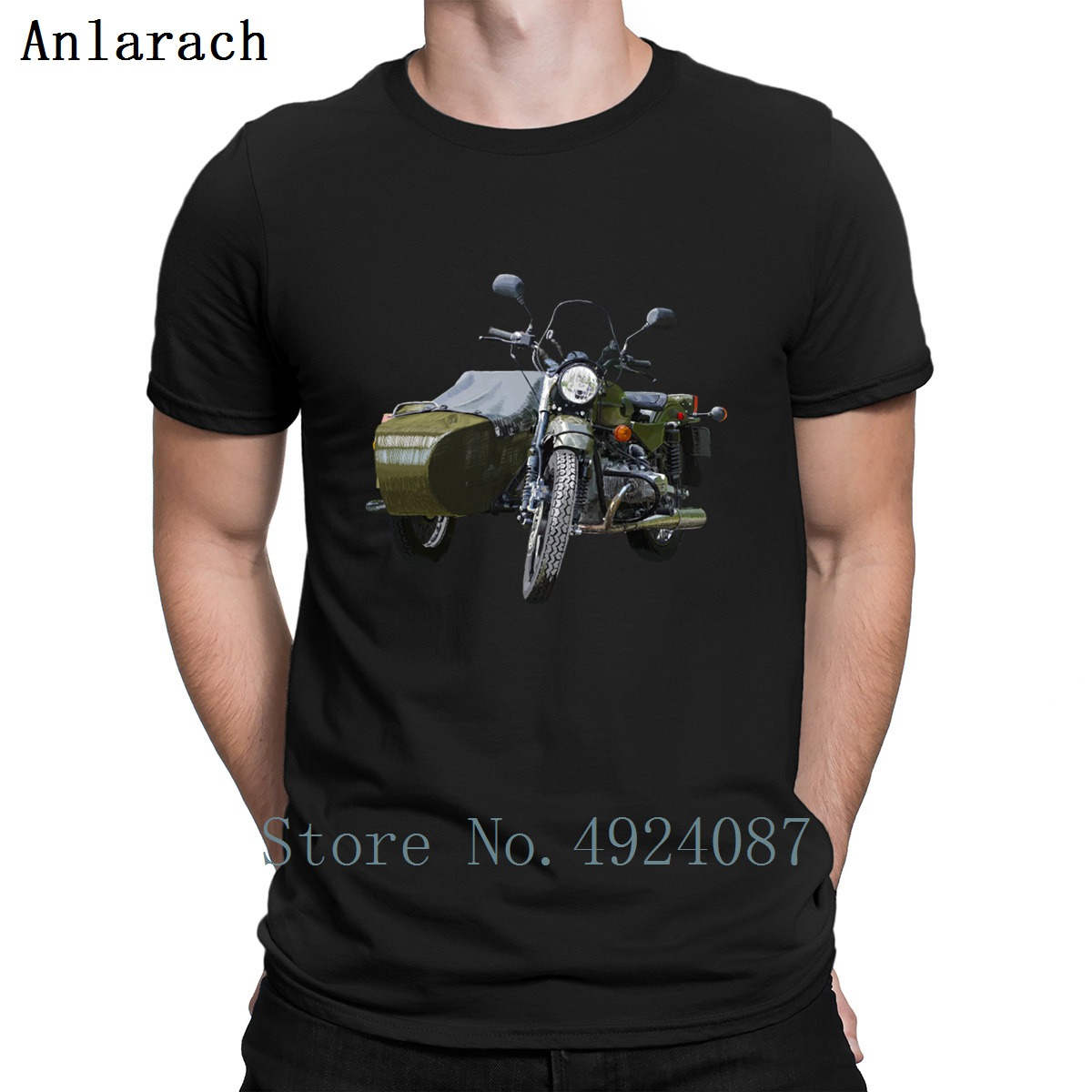 Ural Motorcycle Biker T Shirt Gift Character Summer Trend Tee Shirt Building Top Quality Cotton Novelty