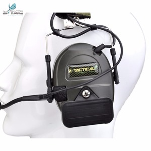 Image 5 - Z טקטי Airsoft Comtac Z054 zComtac ICH אוזניות סגנון טקטי אוזניות OD קסדת רעש ביטול אוזניות