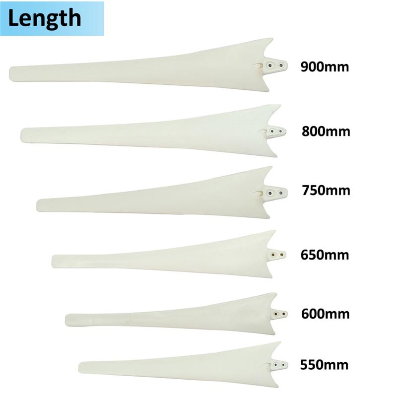 Nylon Blades for horizontal wind turbine, 100w 200w 300w 400w 500w 600w wind generator accessories DIY blades цены