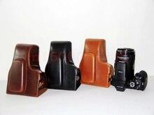 High Quality Photo Bag PU Leather Camera Bag Case For Nik&n P900s DSLR Digital Camera Shoulder neck Bags 3 Colors