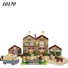 2017 Nouveau AIBOULLY 10170 Amis Série Filles Ménage Temps Panorama minis ensemble Blocs de Construction fille jouets Compatible Avec 3185
