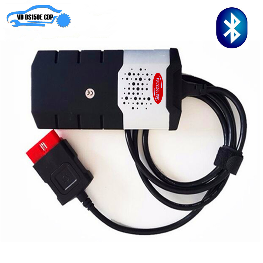 hot sale 2018 new vci <font><b>VD</b></font> DS150E <font><b>CDP</b></font> professional adapter for Delphis 2016r0/2015r3 software obd obd2 with/without Bluetooth image