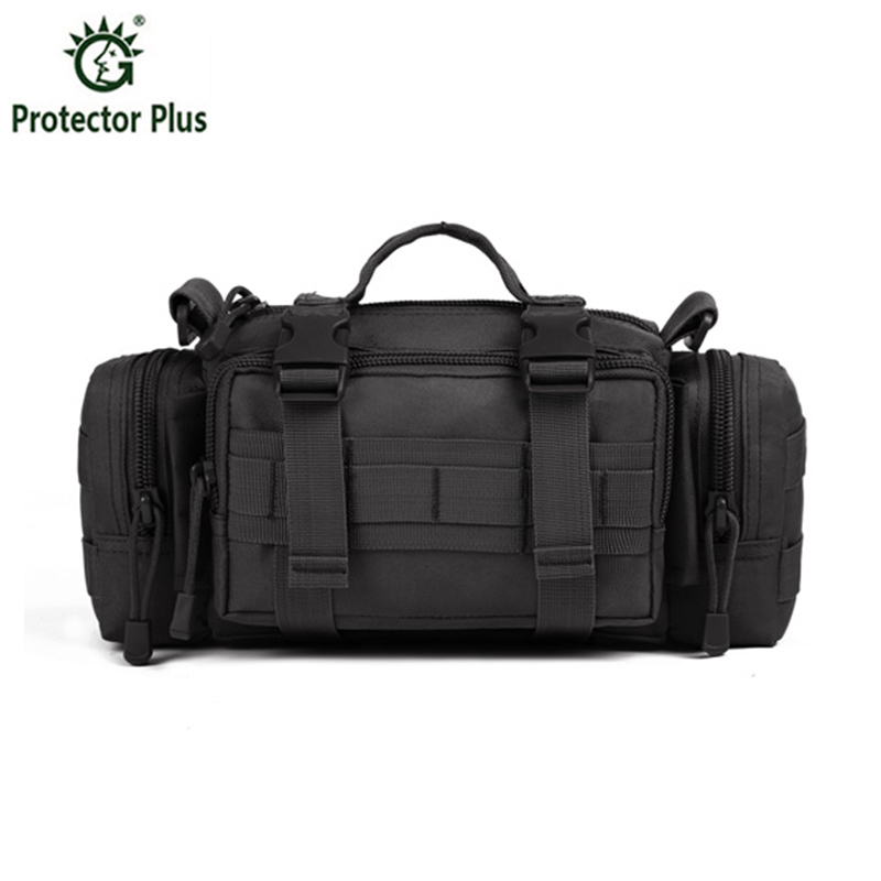 лучшая цена 2018 Men's Tactics Bag Waist Pack Men Fanny Pack Molle Bag High Quality Nylon Belt Pocket Military Messenger Bag Hunt Waist Bag