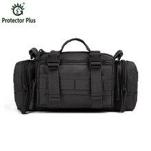 Lelaki Taktik Beg Pek pinggang Lelaki Fanny Pack Molle Bag Berkualiti Tinggi Nylon Tali Pocket Pocket Messenger Bag Bag Hunt Bag Pinggang