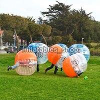 1,0 мм ТПУ надувной шар Зорб 1 м 1,2 м 1,5 м 1,7 м шар мяч для футбола надувной бампербол пузырь футбол для взрослых или детей