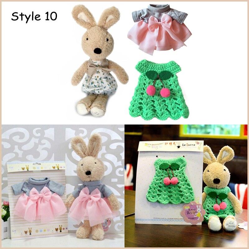de roupas animais de pelúcia brinquedos macios