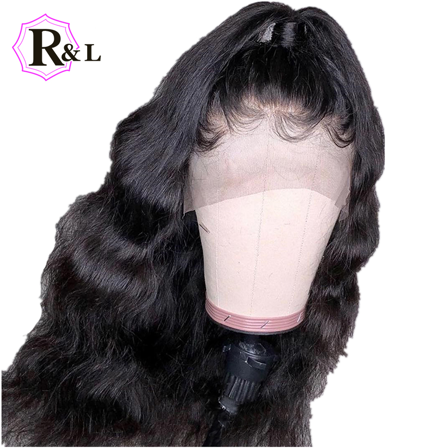 RULINDA Body Wave Lace Front Human Hair Wigs For Women With Baby Hair Brazilian Remy Hair