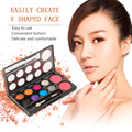 New Fashion 8 Color Eye Shadow and 2 Color Blusher Powder Makeup Cosmetic Palette Tool  Drop Shipping Wholesale Makeup Set