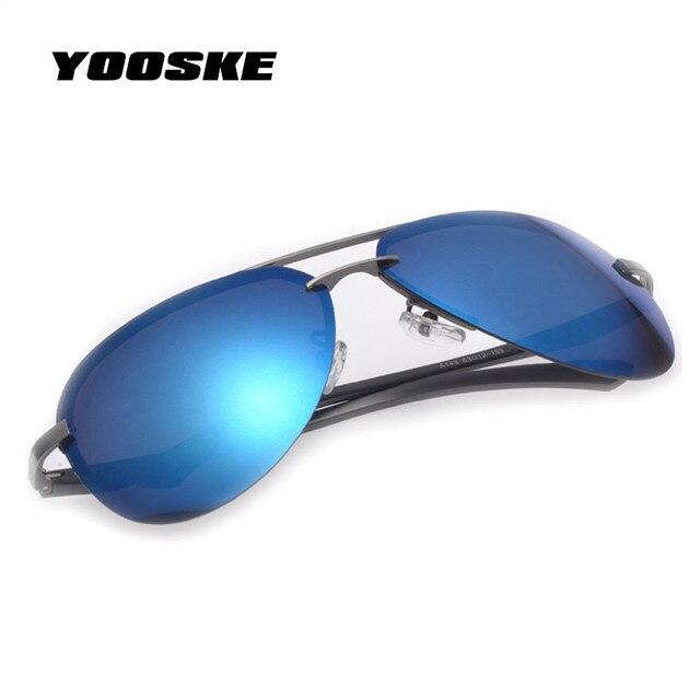 YOOSKE Famosi Uomini di Marca Polarizzati UV400 Occhiali Da Sole Per La  Guida Auto Viaggia ing c27847b57c