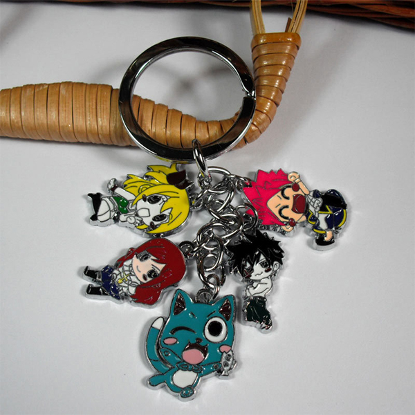 Fairy Tail Figure Key Chain