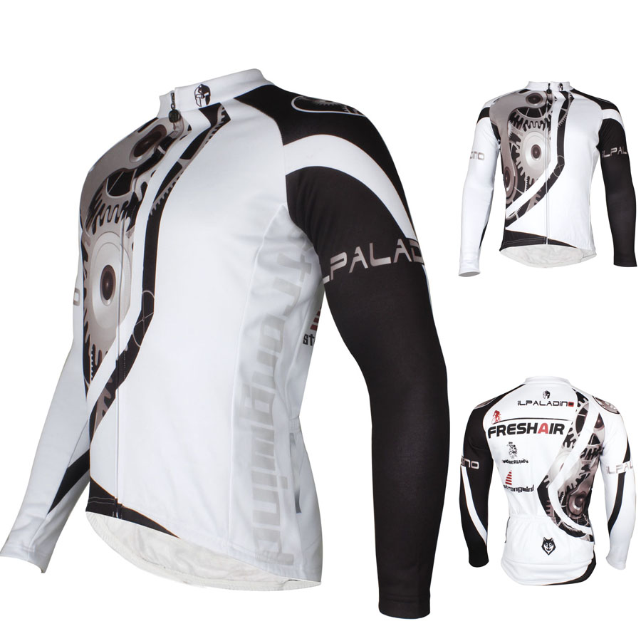112540e819c GZDL Men Quick Dry Breathable Bicycle Jersey Cycling Racing Team Sportswear  Long Sleeve Jacket Top Ciclismo Bicicleta MTB9417-in Cycling Jerseys from  Sports ...